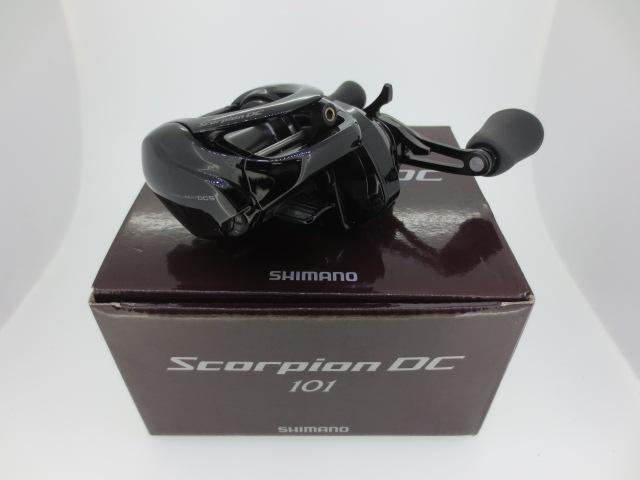 SHIMANO/シマノ17スコーピオン DC101 左リール【中古】【釣り/つり/釣具/リール】