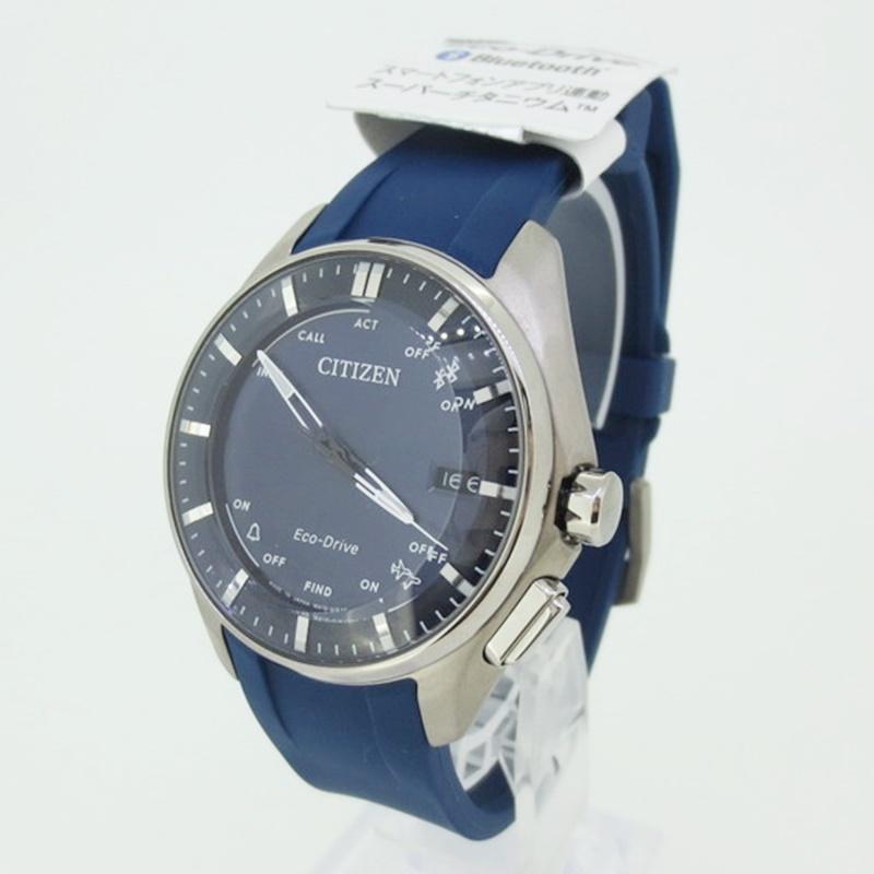 【中古】CITIZEN シチズン 腕時計 リストウォッチ W410-S119758 カラー:ブルー系【f131】
