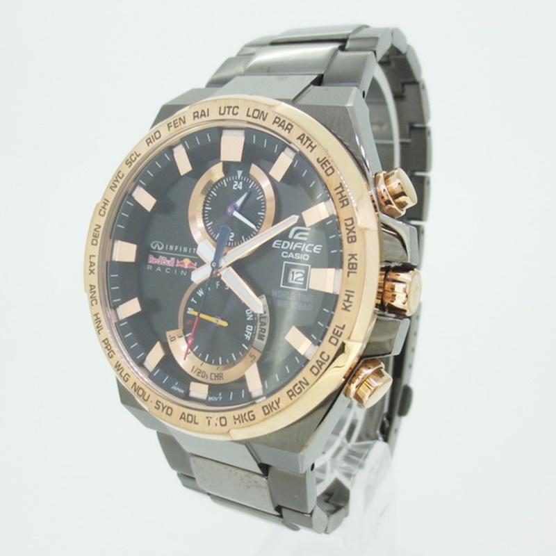 【中古】CASIO EDIFICE エディフィス 腕時計 リストウォッチ EFR-542RBM-1AJR カラー:-【f131】