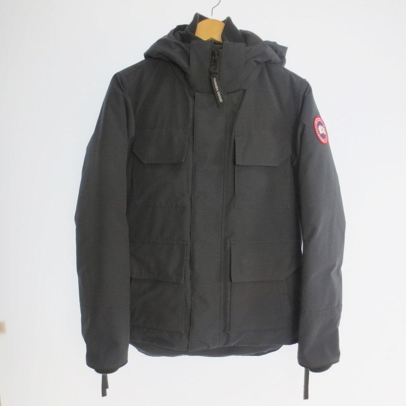 【中古】CANADA GOOSE カナダグース MAITLAND PARKA ダウンジャケット サイズ:XS カラー:ブラック / アウトドア【f108】