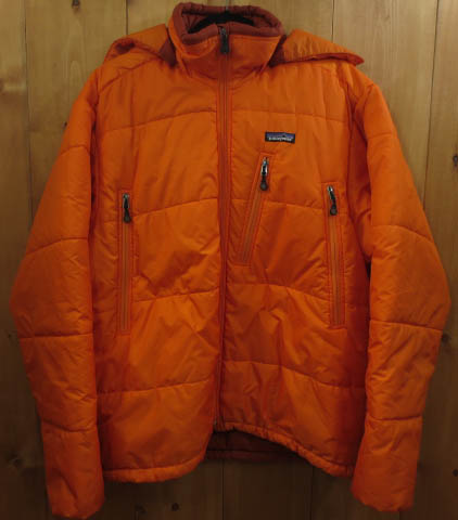【中古】Patagonia/パタゴニア ダウンジャケット サイズ:L カラー:オレンジ / アウトドア