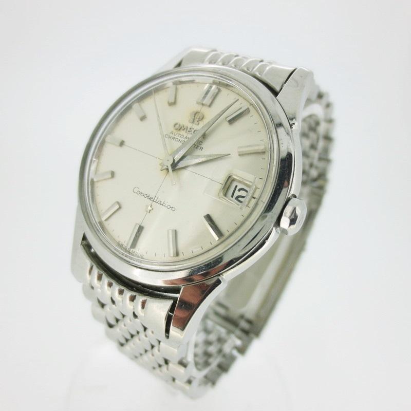【中古】OMEGA オメガ  腕時計 リストウォッチ 14393 ×シルバー 自動巻き(オートマチック) その他ベルト【f132】