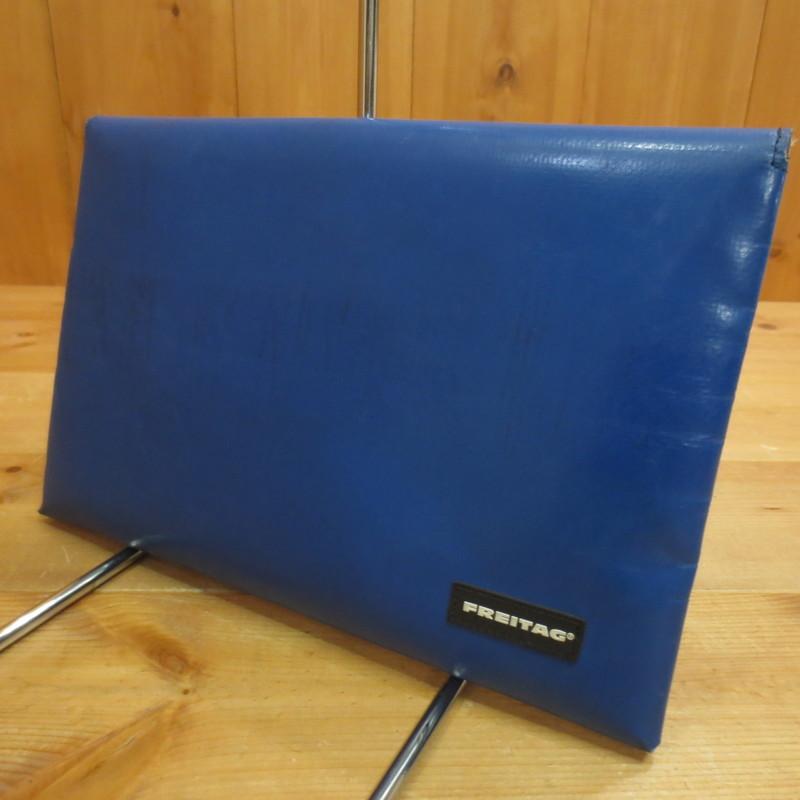 【中古】FREITAG フライターグ Mac Air Sleeve 11 セカンドバッグ カラー:ブルー系【f121】