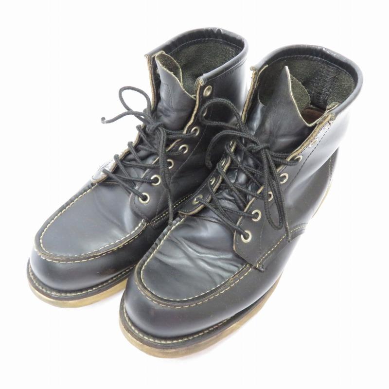 【中古】RED WING/レッドウイング 8179 アイリッシュセッター/モックトゥ犬タグ/ブーツ サイズ:9 1/2(27.5cm) カラー:ブラック【f127】