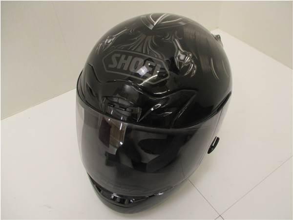 【SHOEI/ショウエイ】X-9 フルフェイス ヘルメット Mサイズ ケース付き【中古】【スポーツ関連】