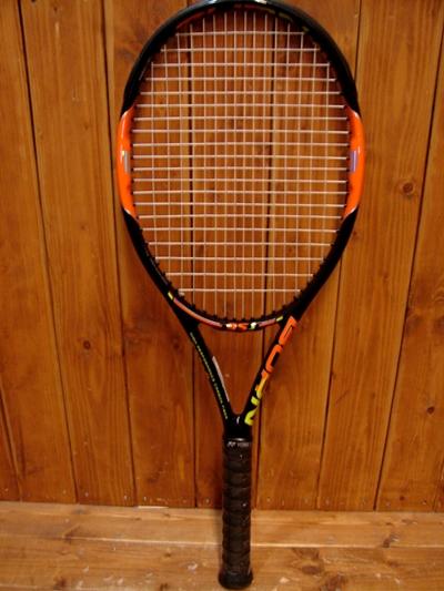 【WILSON/ウィルソン】BURN 95J 硬式テニスラケット【中古】【スポーツ関連】