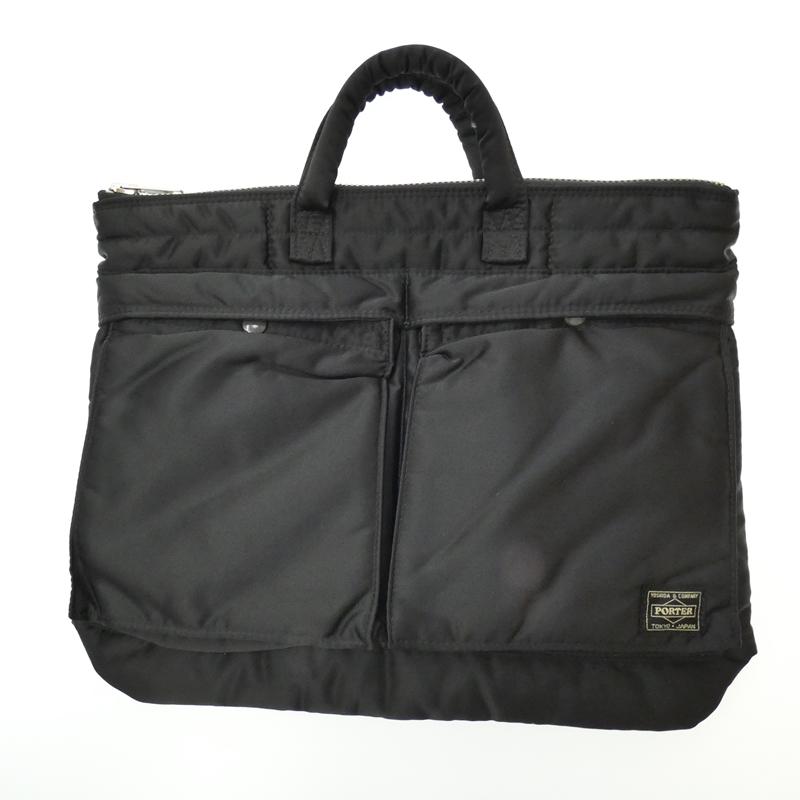 【中古】PORTER/ポーター 吉田カバン TANKER ブリーフケース バッグ サイズ:- カラー:ブラック【f121】