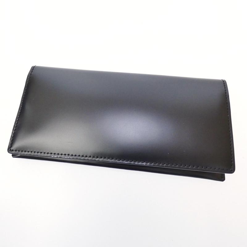 【中古】Brooks Brothers/ブルックスブラザーズ 二つ折り長財布 サイズ:- カラー:ブラック【f124】