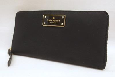 【中古】Kate Spade/ケイトスペード 長財布 カラー:ブラック