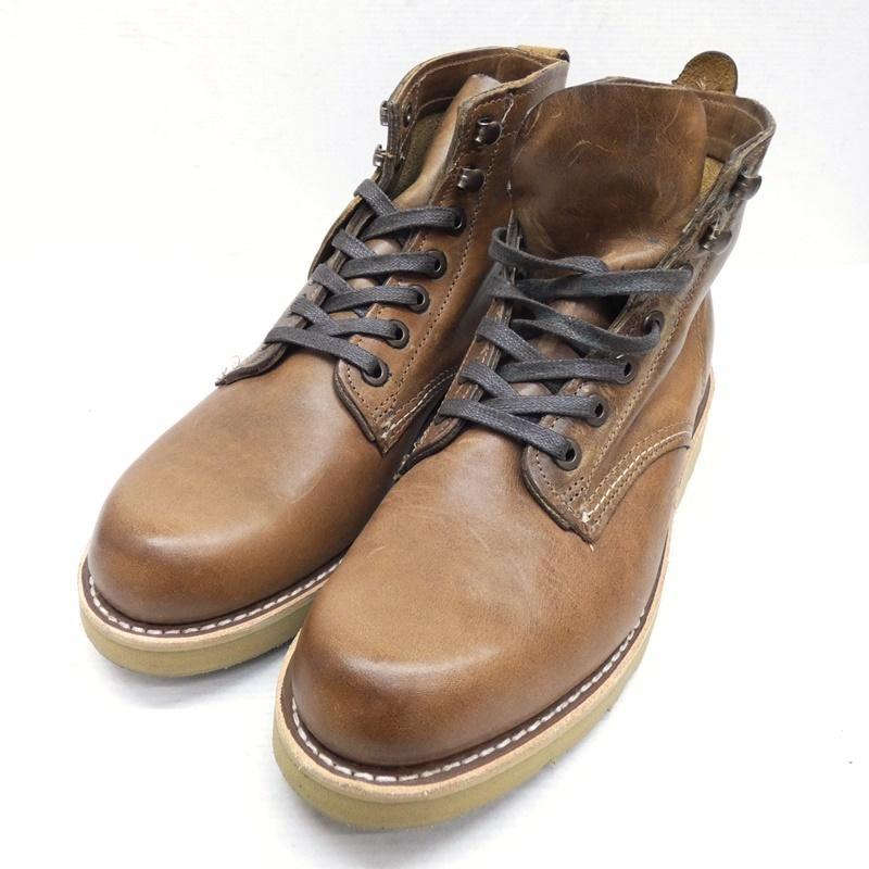 【中古】WOLVERINE/ウルバリン ウルヴァリン PRESTWICK ブーツ サイズ:25.5 カラー:ブラウン【f127】