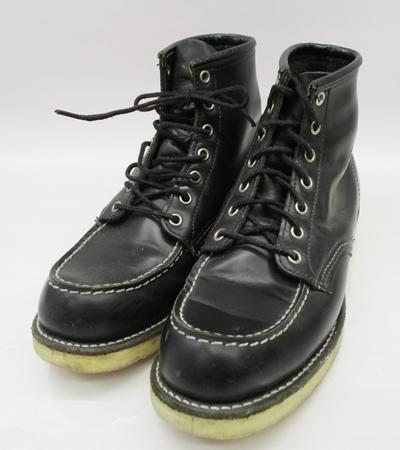 【中古】RED WING/レッドイウング 8130 ブーツ サイズ:9 カラー:ブラック