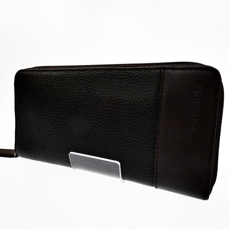 【中古】COACH/コーチ  ラウンドファスナー財布【f125】