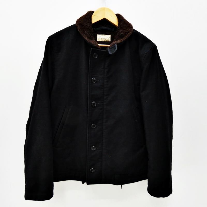 【中古】COOTIE/クーティー N-1 デッキジャケット サイズ:M カラー:ブラック / ルード【f096】