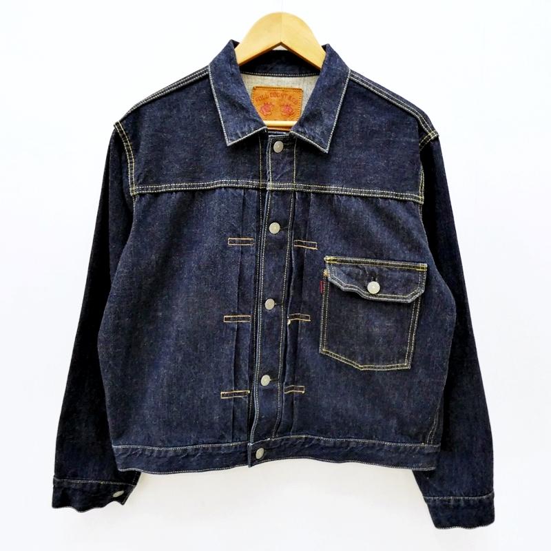 【中古】FULL COUNT/フルカウント 2017 1ST TYPE デニムトラッカージャケット サイズ:40 カラー:ブルー / アメカジ【f093】