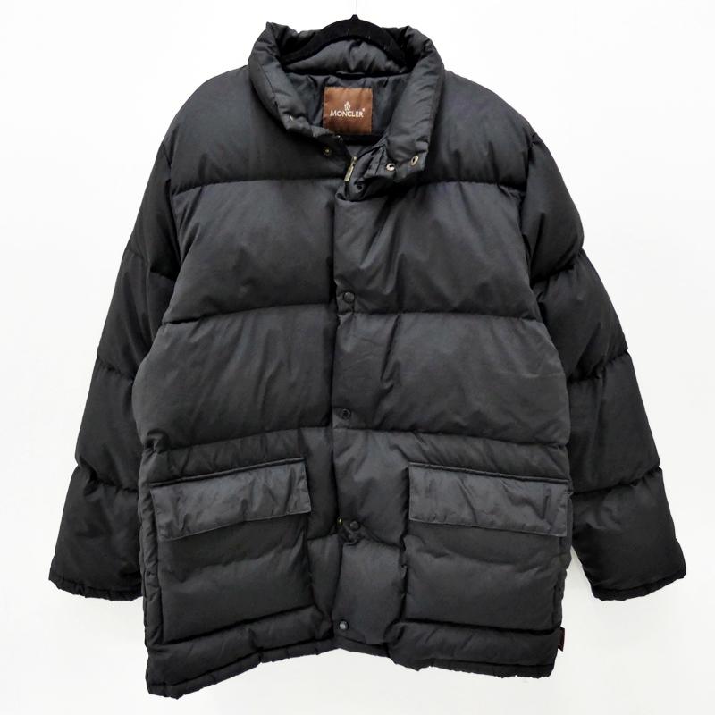 【中古】Moncler/モンクレール ダウンジャケット サイズ:4 カラー:ブラック【f108】