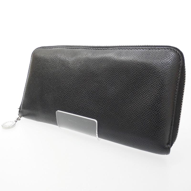 【中古】BVLGARI/ブルガリ 20886 クラシコ ラウンドファスナー長財布【f125】