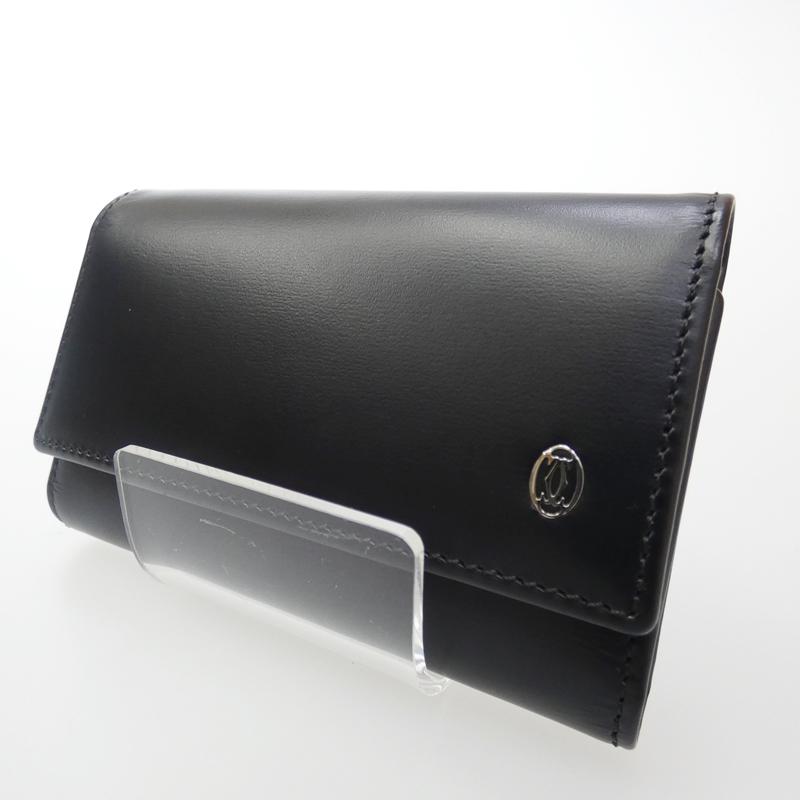 【中古】Cartier/カルティエ 6連キーケース サイズ:- カラー:ブラック【f125】