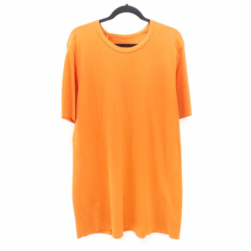 【中古】BORIS BIDJAN SABERI/ボリス ビジャン サベリ TS2 ビッグTシャツ サイズ:S カラー:オレンジ【f108】