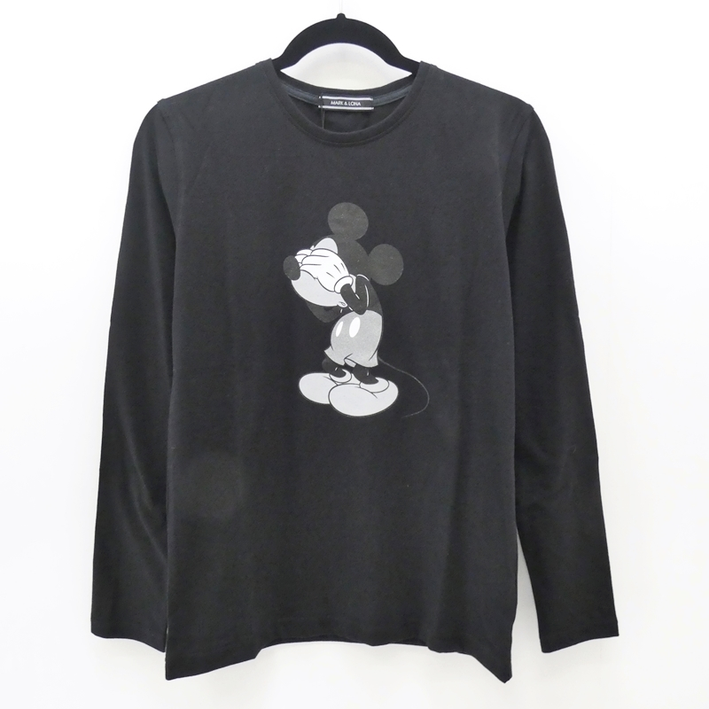 【中古】MARK&LONA/マーク&ロナ 2017A/W L/S Tee Tシャツ サイズ:S カラー:ブラック【f104】