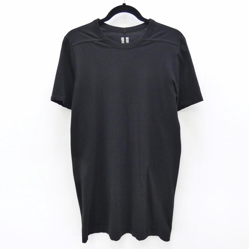 【中古】Rick Owens/リックオウエンス 2017S/S 国内正規品 Level TeeS/S Tシャツ サイズ:S カラー:ブラック【f108】