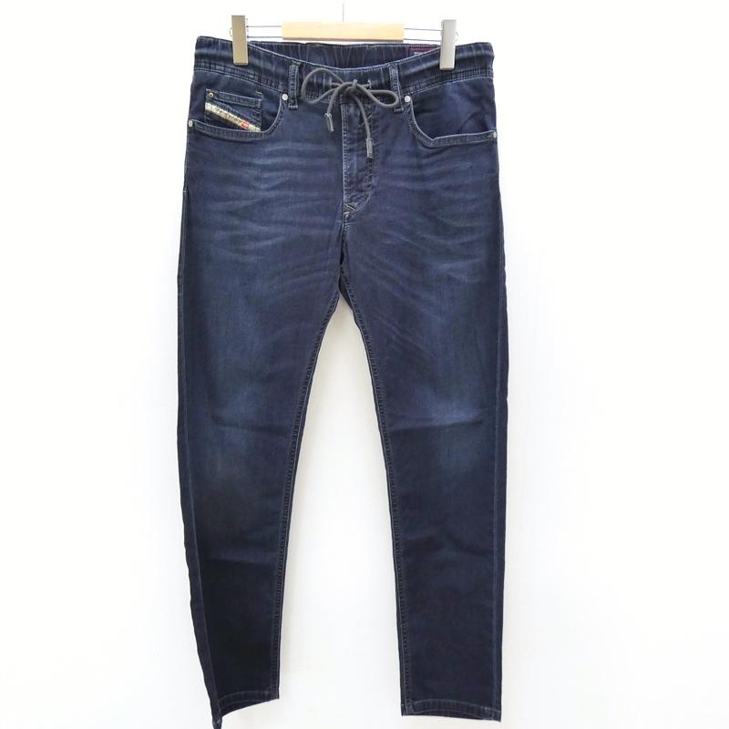 【中古】DIESEL/ディーゼル WAYKEE ジョグジーンズ デニムパンツ サイズ:30 カラー:ブルー系 / インポート【f107】