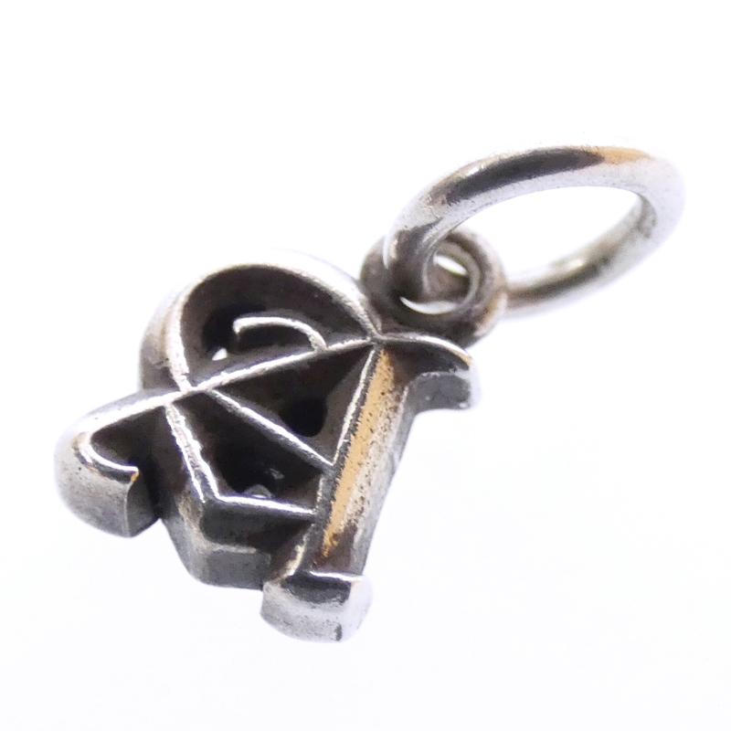 【中古】CHROME HEARTS/クロムハーツ ALPHABET MINI A シルバーペンダントトップ サイズ:- カラー:シルバー【f134】