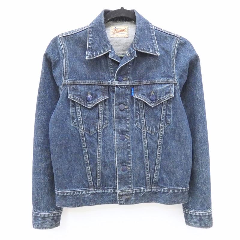 【中古】BOHEMIANS/ボヘミアンズ デニムジャケット サイズ:XS カラー:ブルー / アメカジ【f110】