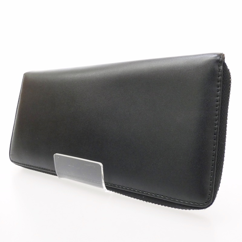 【中古】COMME des GARCONS/コムデギャルソン ラウンドファスナー長財布 サイズ:- カラー:ブラック【f124】