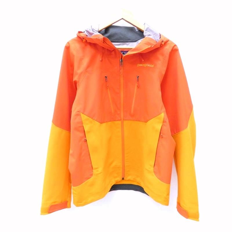【中古】Patagonia/パタゴニア Mixed Guide Hoodyマウンテンパーカー サイズ:S カラー:オレンジ / アウトドア【f092】