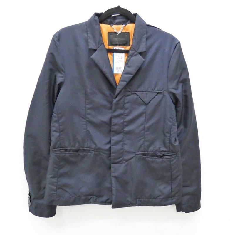 【中古】DIESEL BLACK GOLD/ディーゼルブラックゴールド ダウン2Bジャケット サイズ:46 カラー:ネイビー / インポート【f094】