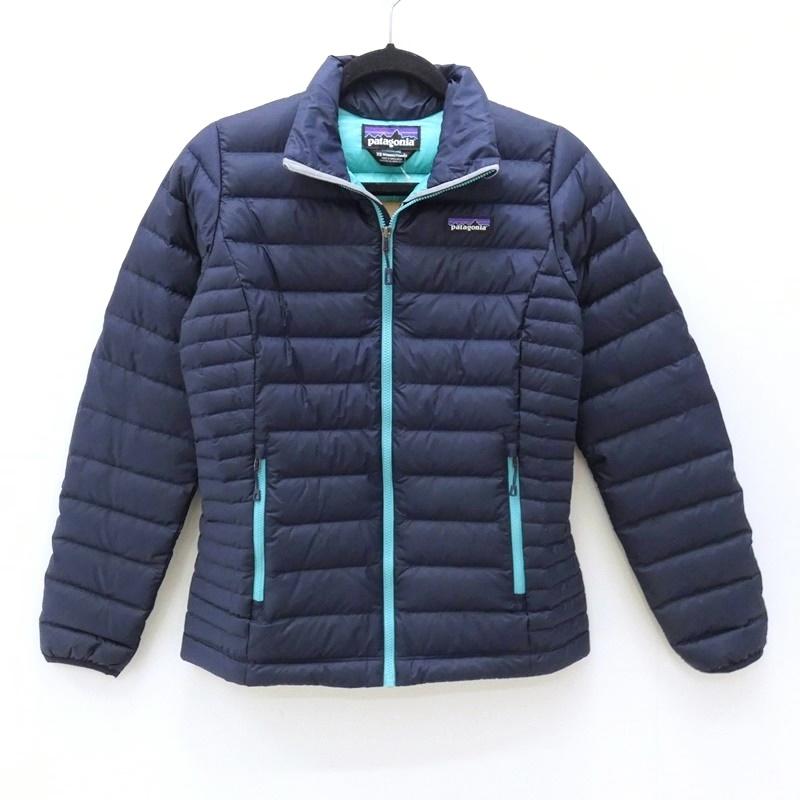【中古】patagonia/パタゴニア down sweater サイズ:XS カラー:ネイビー / アウトドア【f111】
