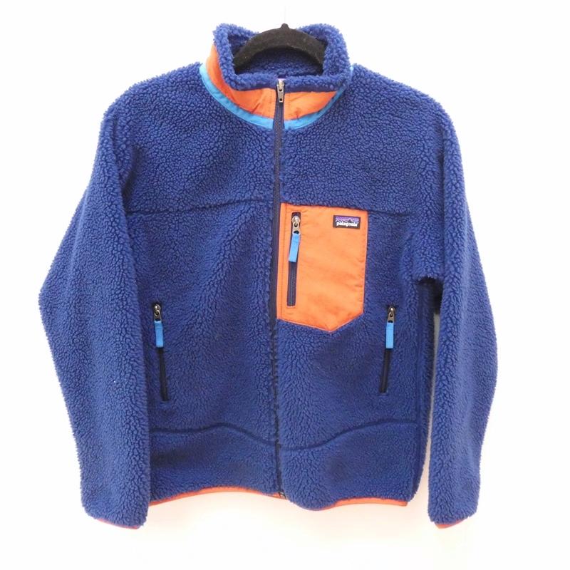 【中古】Patagonia/パタゴニア キッズモデル レトロXジャケット サイズ:XL カラー:ブルー【f111】