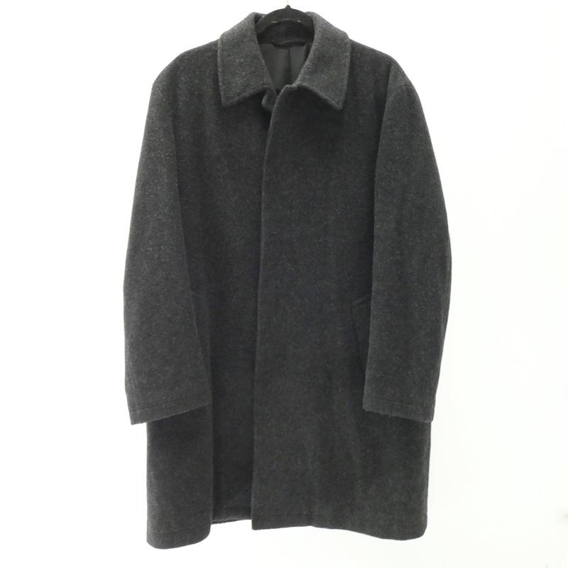 【中古】Yohji Yamamoto/ヨウジヤマモト D'URBAN A.A.R ステンカラーコート サイズ:M カラー:ブラック【f108】