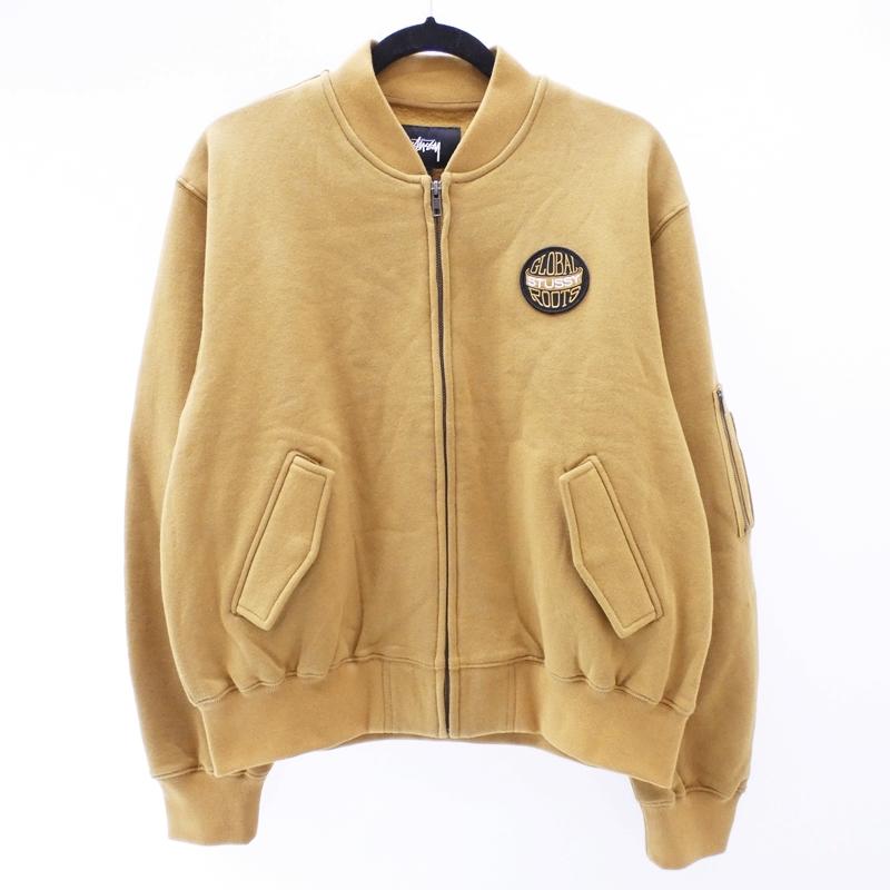 【中古】STUSSY/ステューシー ジャケット サイズ:S カラー:ベージュ系 / ストリート【f110】