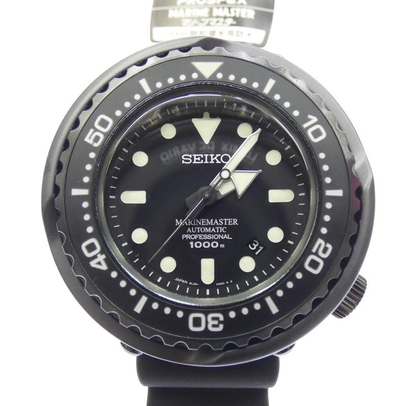 【中古】【代引き決済不可】SEIKO/セイコー PROSPEX /プロスペックス腕時計 SBDX013 アナログ 自動巻き ラバーバンド サイズ:- カラー:ブラック【f130】