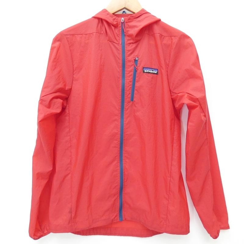 【中古】Patagonia/パタゴニア 2019S/S 24142 フーディニジャケットナイロンジャケット サイズ:XS カラー:レッド / アウトドア【f092】