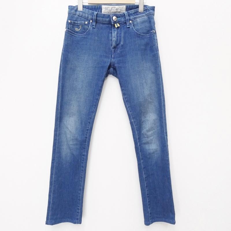 【中古】JACOB COHEN/ヤコブコーエン PW696COMF デニムパンツ サイズ:28 カラー:ブルー系【f107】