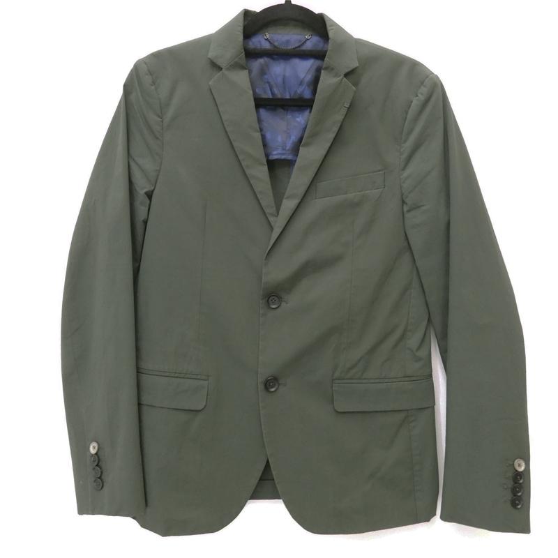【中古】DIESEL/ディーゼル テーラードジャケット サイズ:46 カラー:グリーン / インポート【f094】