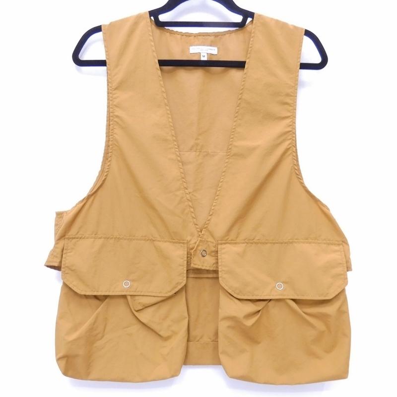 【中古】Engineered Garments/エンジニアド ガーメンツ Fowl Vest ベスト サイズ:M カラー:キャメル系 / セレクト【f091】