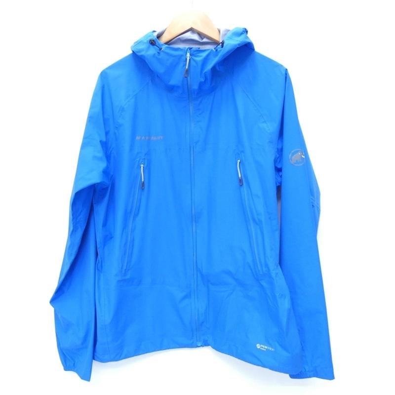 【期間限定】ポイント20倍【中古】MAMMUT/マムート 1010-25311 AEROSPEED Jacket Men エアロスピード ジャケットマウンテンパーカー サイズ:XL カラー:ブルー / アウトドア【f092】