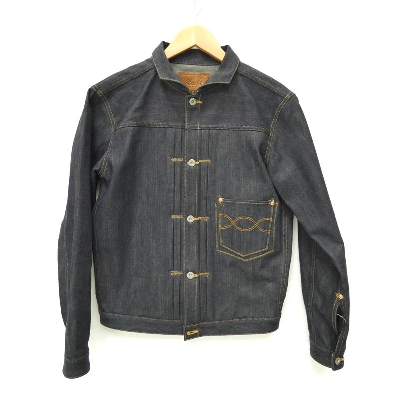 【中古】Basella/バセラ LOT-110 J-DENIM JKT デニムジャケット サイズ:S カラー:ネイビー系【f096】