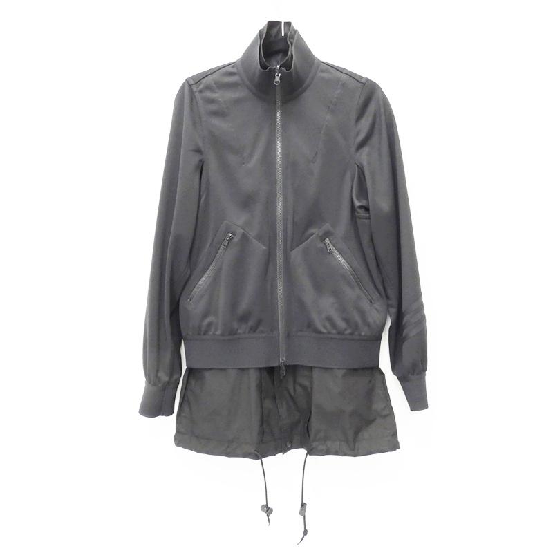 【中古】Y-3/ワイスリー 2019S/S DY7286 REVERSIBLE TRK JKTトラックジャケット サイズ:S カラー:ブラック【f108】
