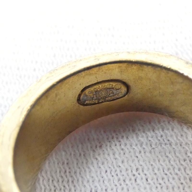 返品・交換不可 CHANEL シャネル リング サイズ 12 カラー ゴールド系 f1355RqjL43A