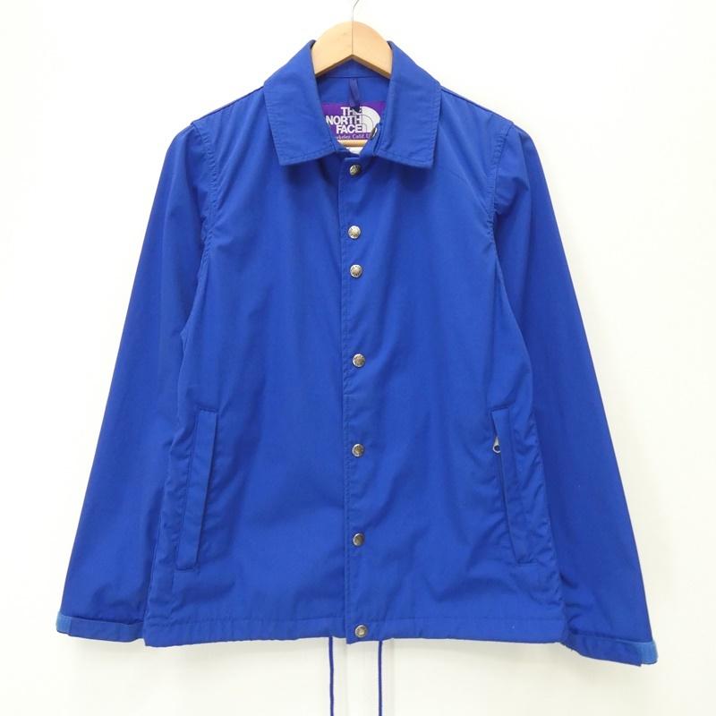 【中古】THE NORTH FACE PURPLE LABEL/ザ・ノースフェイスパープルレーベル NP2503N 65/35 Coaches Jacket コーチジャケット サイズ:S カラー:ブルー / アウトドア【f092】