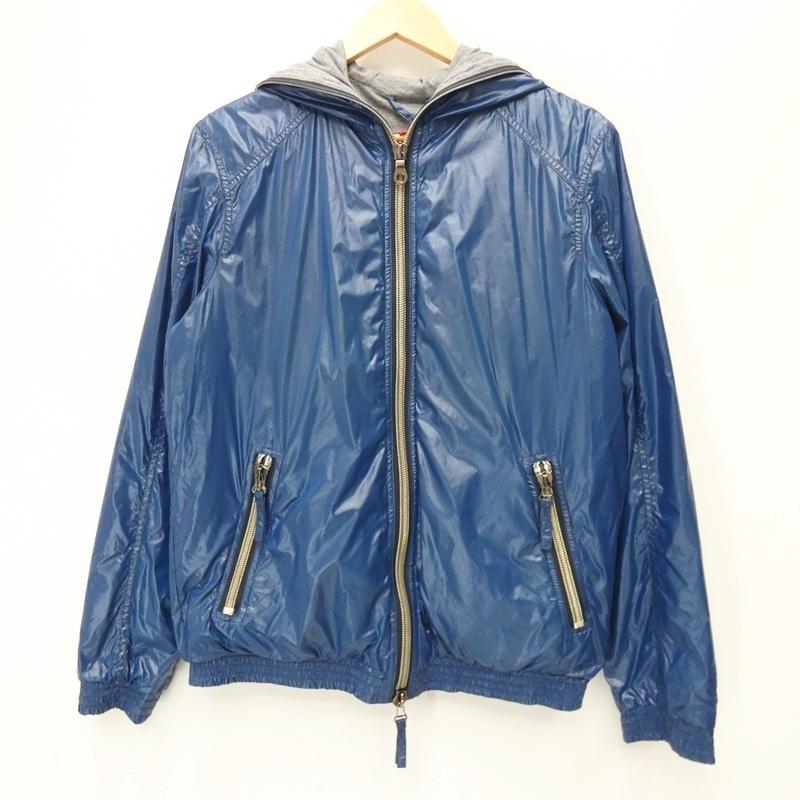【中古】DUVETICA/デュベティカ ナイロンジャケット/ALETE サイズ:50 カラー:ブルー【f108】