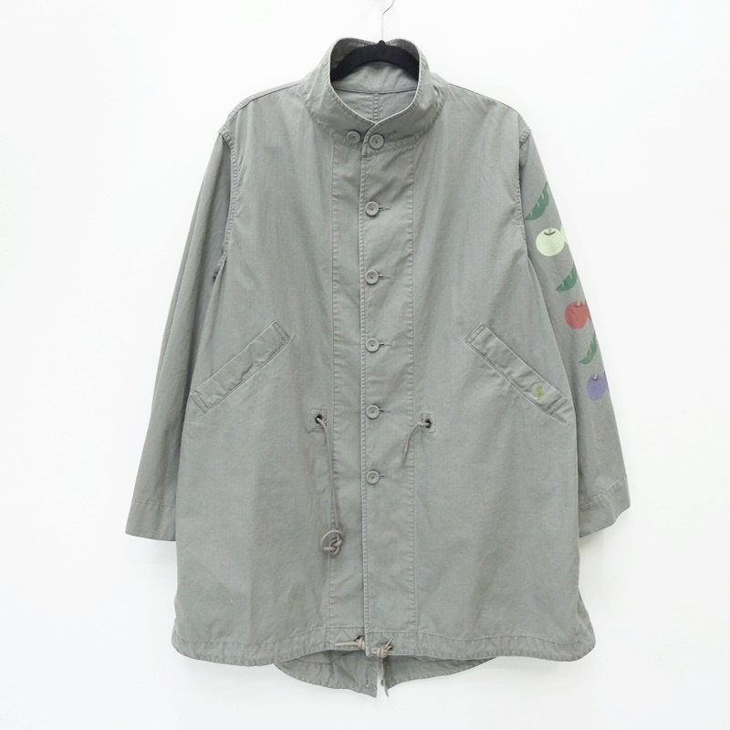 【中古】BRU NA BOINNE ブルーナボイン 5335 TO BE HAPPYコート コート サイズ:0 カラー:カーキ系 / セレクト【f091】