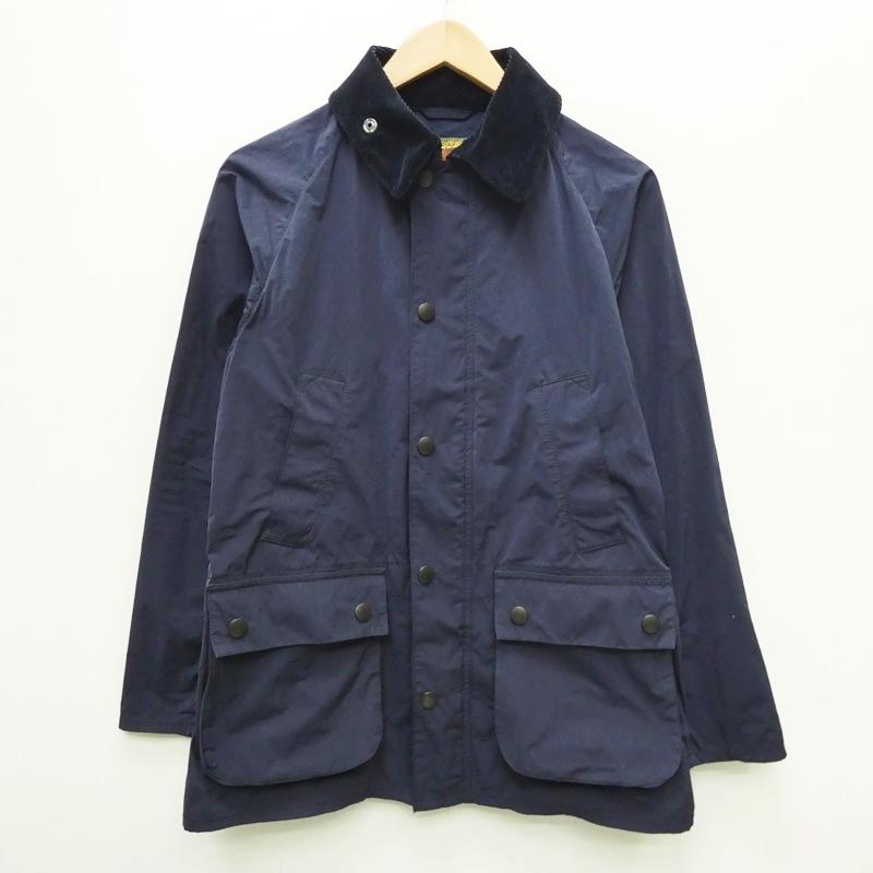 【中古】Barbour バブアー 1501062 BEDALE ジャケット サイズ:M カラー:ネイビー / インポート【f094】