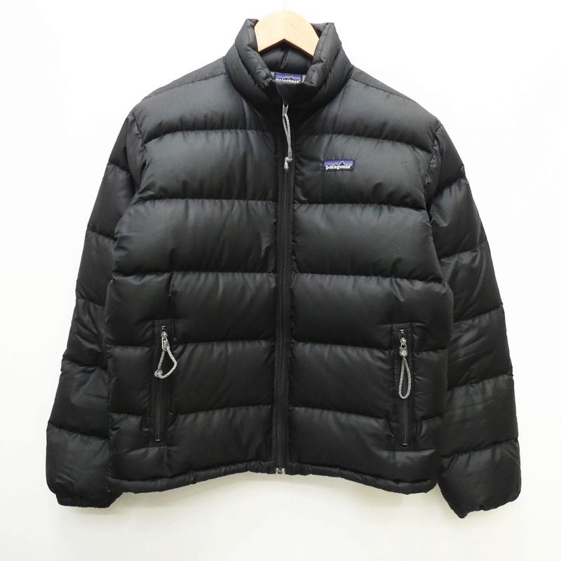 【中古】Patagonia パタゴニア 84600 パッカブルダウンジャケット サイズ:S カラー:ブラック / アウトドア【f092】