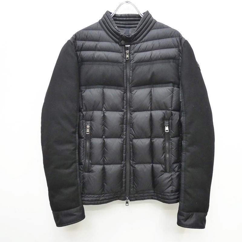 【中古】MONCLER モンクレール 17-18AW GARD ダウンジャケット サイズ:3 カラー:ブラック【f108】