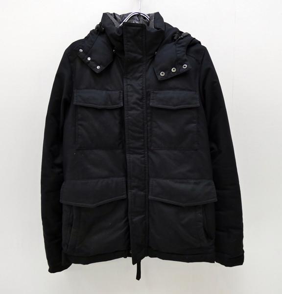 【中古】DUVETICA/デュベティカ 国内正規品 M-65 ダウンジャケット サイズ:S カラー:ブラック